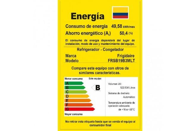 Nevecón ELECTROLUX NF 537Lt FRSB19B3