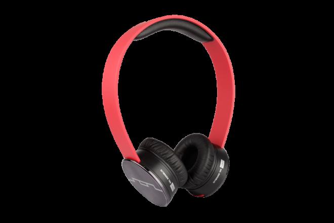 AudiTracks HD SOLREPUBLIC Micrófono Rojo (Audifonos)