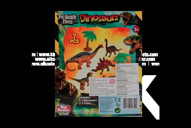 Juguete Set Dinosaurio Pre-historic Times
