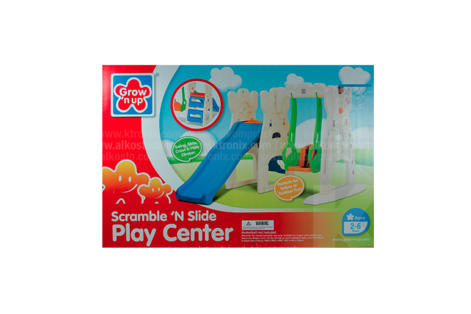 Resbaladera Grow'n Up Play Center Con Columpio