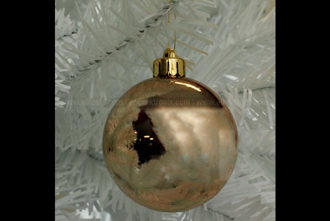 Set x 20 Esferas 6 cm Surtido Dorado