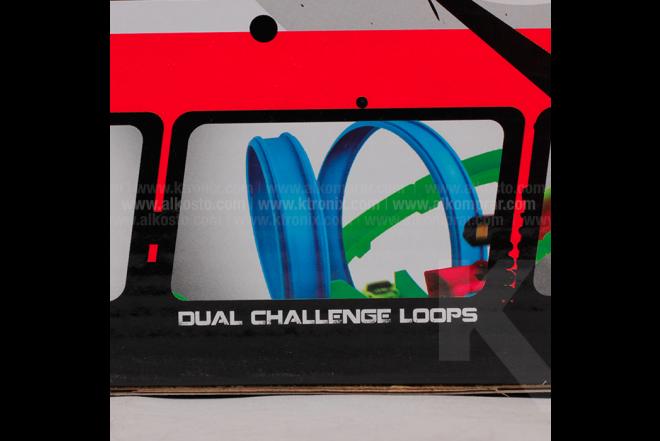 Pista Track Racing 360° x 2 37 Piezas