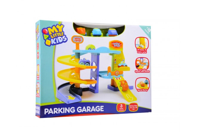 Garaje parqueo con 3 vehículos Happy Line
