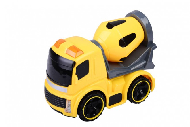 Camión mezcladora de concreto Happy Line Amarillo