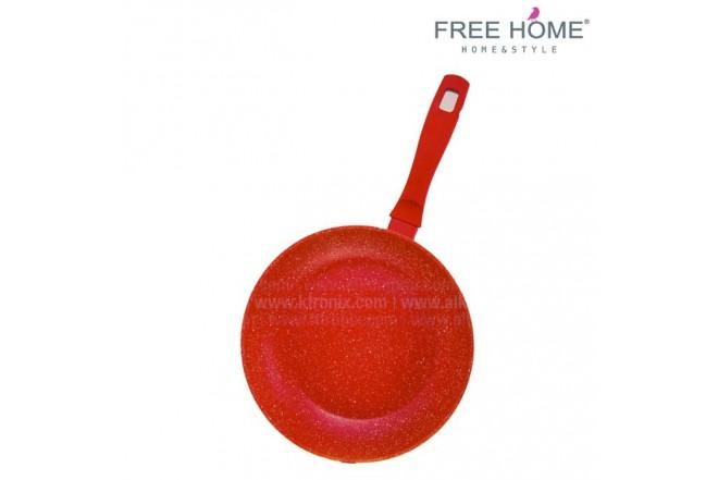Sartén  Inducción - FREE HOME-  26Cm - Rojo - BFT- MFP