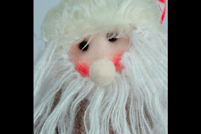 Decoración Navideña Santa Sentado 80 cm