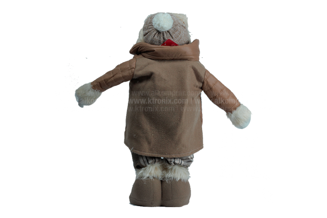 "Decoración Navideña Hombre De Nieve Parado 20"""