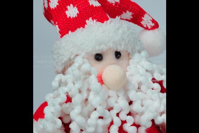 """Decoración Navideña Santa Parado Skies 10"""""""
