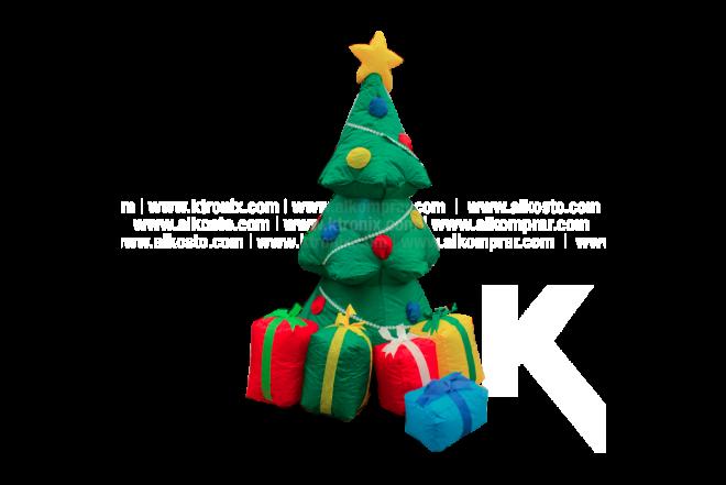 Árbol Navidad Inflable Con Regalos 120 cm