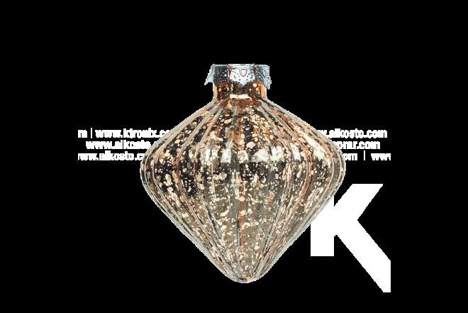 Guirnalda De Luz Con Diamante 7 cm Dorada