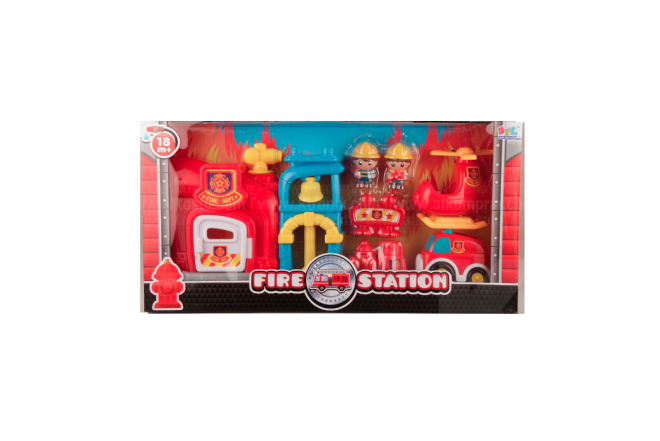 Set Infantil Fire Station