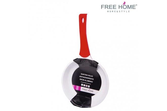 Sartén FREE HOME - 20  cm Rojo XT-DC6703B