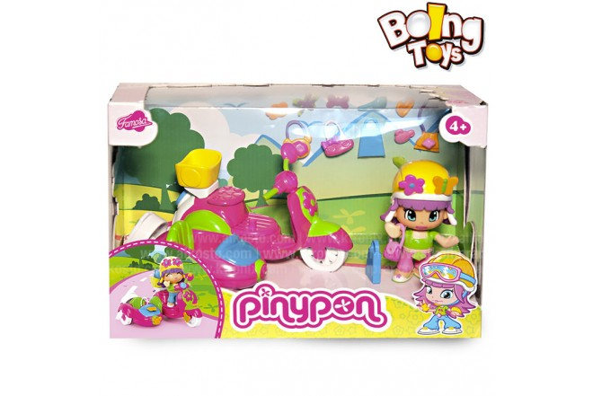 PINYPON MOTO C/CARRITO