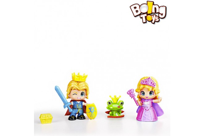 PINYPON SET PRINCIPE Y PRINCESA