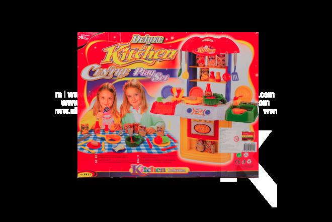 Juguete Cocina Con Accesorios Deluxe