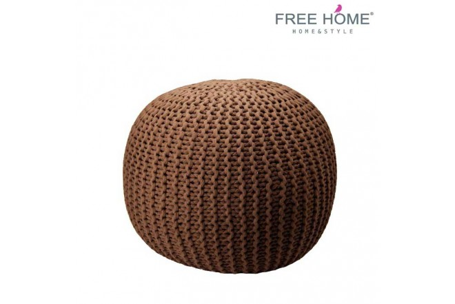 Asiento Puff FREEHOME Café