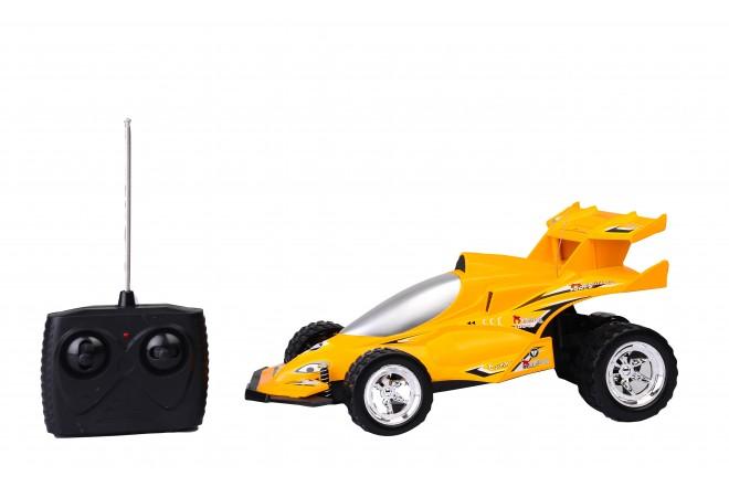 Auto deportivo radio control escala 1:14 Happy Line Amarillo