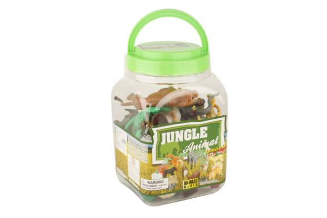 Juguete Balde Jungle Animal