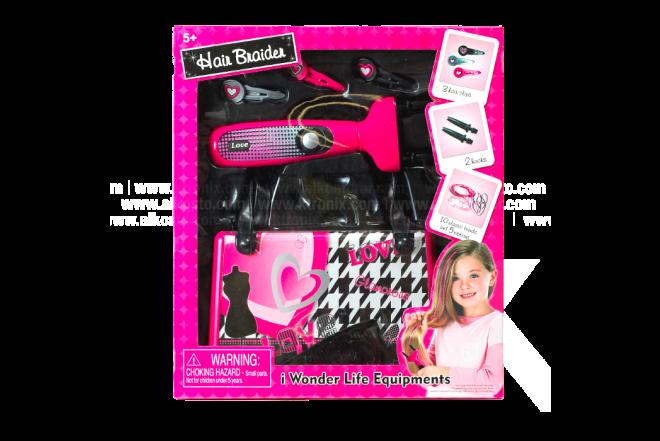 Juguete Set Belleza Wonder Life Equipments Hair Braider