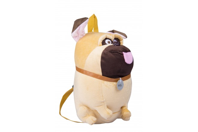 Mochila Mel Secret Life Of Pets Beige