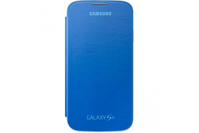 Flip Cover Azul SAMSUNG para Galaxy S4