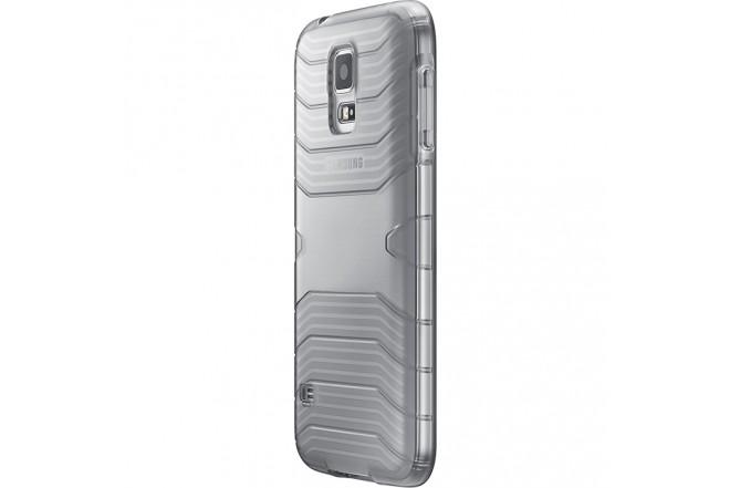 Protector Cover SAMSUNG para Galaxy S5 Gris