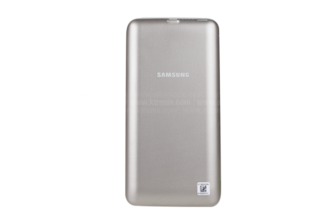 Batería Wireless SAMSUNG S6 edge Plus Gold