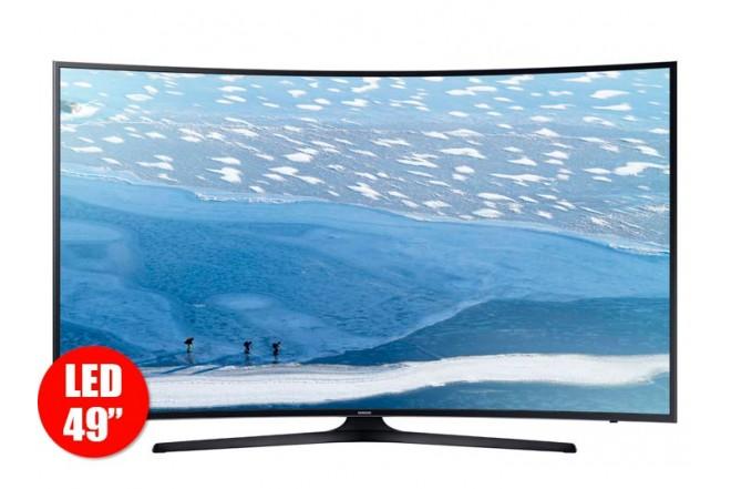 "TV 49"" 124cm LED SAMSUNG 49KU6300 UHD"