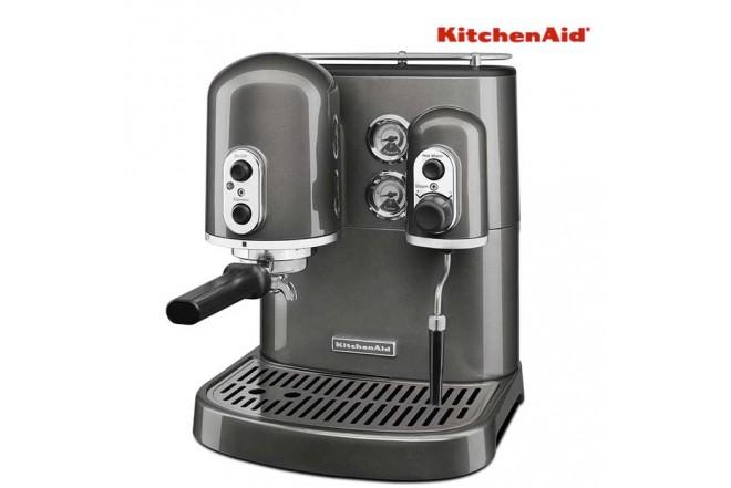 Cafetera KITCHENAID Man Espresso S 2T Silver KES2102MS