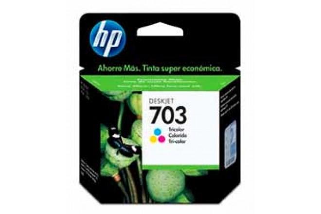 Cartucho HP 703 CD888AL Tricolor