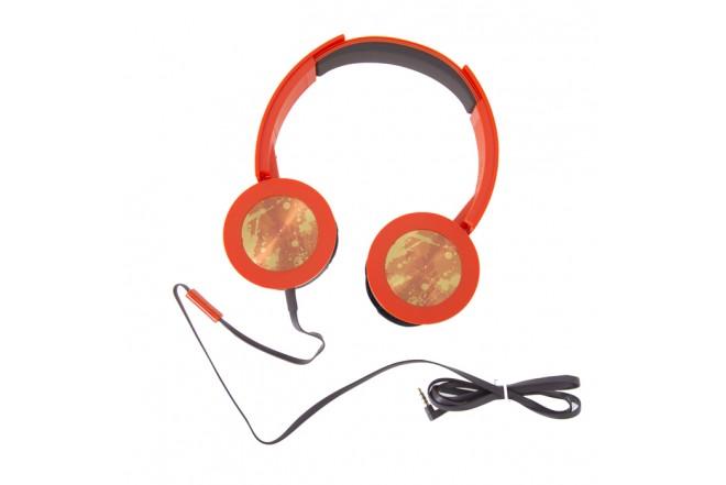 Audífonos PANASONIC Alambricos OnEar HXS400 Naranja