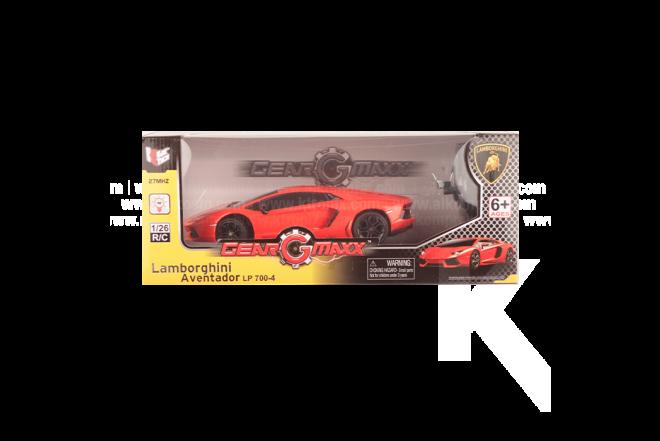 Vehículo R/C Lamborghini Aventador LP700-4 1:26 B/O Orange