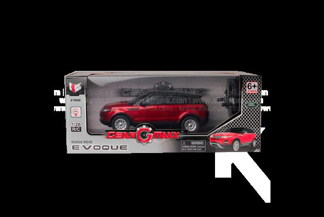 Vehículo R/C Range Rover Evoque 1.26 B/O RED