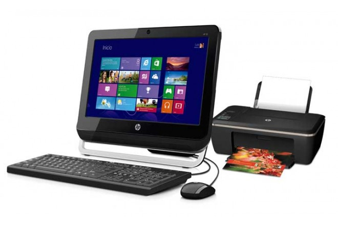 PC All in One HP 18-1103 + Multifuncional