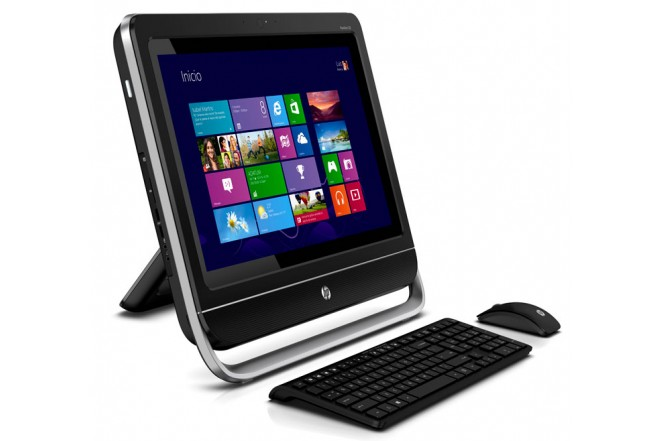 PC All in One HP Touch 20- f295la