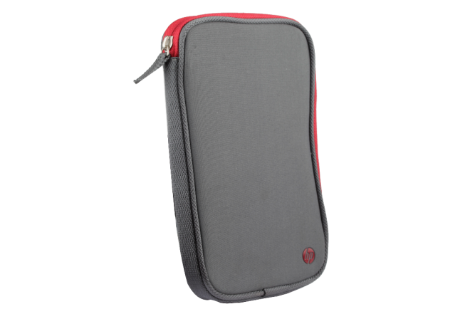 "Funda HP para Tablet 7"" en Neopreno Gris/Rojo"