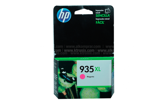 Cartucho HP 935XL Magent Ink
