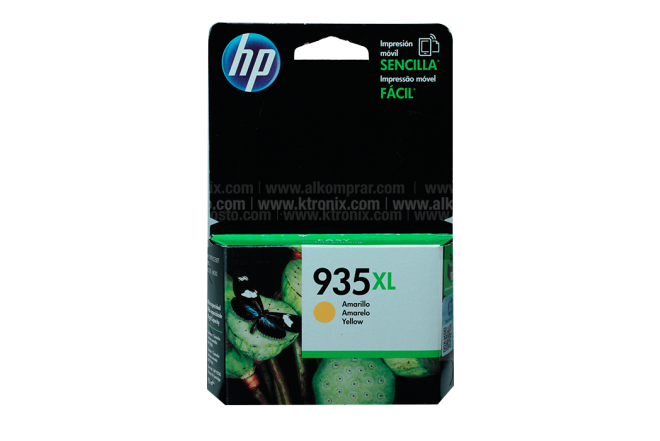 Cartucho HP 935XL Yellow Ink