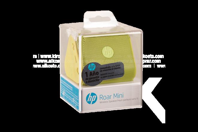 Parlante HP Inalámbrico Roar Mini Bluetooth Verde
