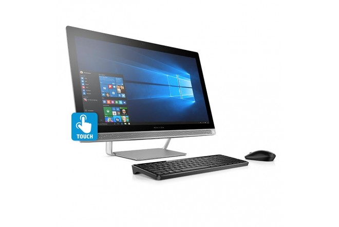 "PC All in One HP 24-B003 Ci5 23.8"" Plata"