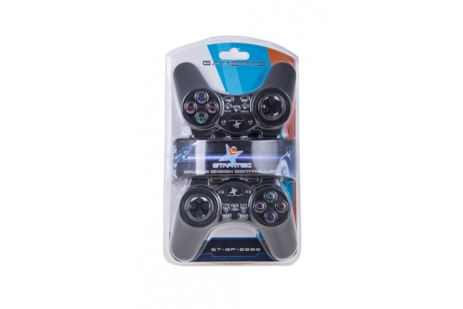 Game Pad - STARTEC - 2 Unidades STGP - 2280 - Negro
