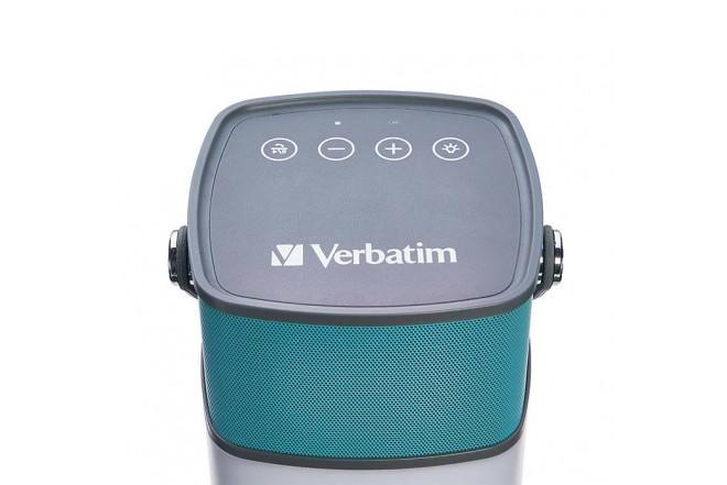 Parlante VERBATIM Bluetooth Inalámbrico Linterna