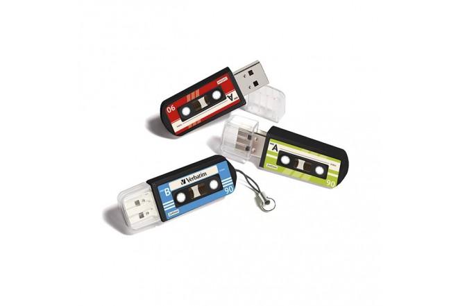Memoria USB VERBATIM 16GB 2.0 Cassette