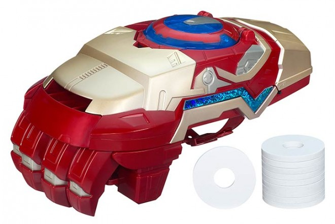 Puño Lanza Discos Iron Man 3