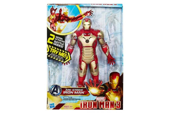Figura Electronic Iron Man 10""