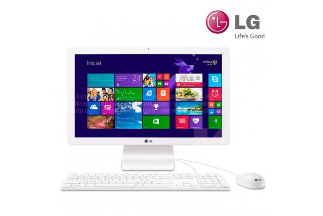 PC All in One LG 22V240 FHD Pentium®