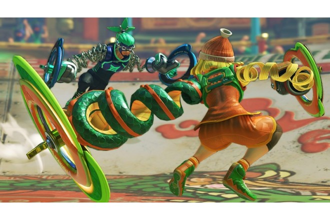 Videojuego SWITCH ARMS-4