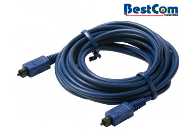 Cable Óptico Audio-Digital BESTCOM 5 mm de 1.83 m