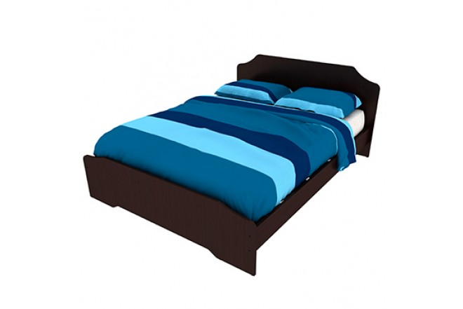 Cama doble practimac arual wengue 1 4 pm1400227 alkosto for Mueble cama doble