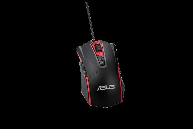 Mouse ASUS Alámbrico Óptico Gaming GT200